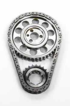 ROLLMASTER-ROMAC - Rollmaster-Romac SBC Billet Roller Timing Set w/Torr. Bearing