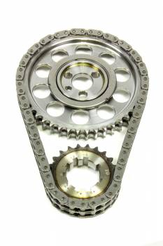 Rollmaster - Rollmaster-Romac SBC Billet Roller Timing Set w/Torr. Bearing