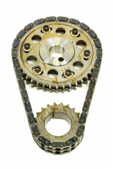 Rollmaster - Rollmaster-Romac SBF Billet Roller Adj. Timing Set w/Torr. Brg