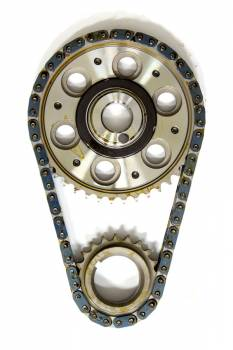 Rollmaster - Rollmaster-Romac SBF EFI Billet Roller Adj. Timing Set w/Torr.