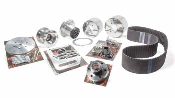Blower Drive Service - Blower Drive Service SBC Blower Drive Kit w/ 3in x 1/2 Drive Belt