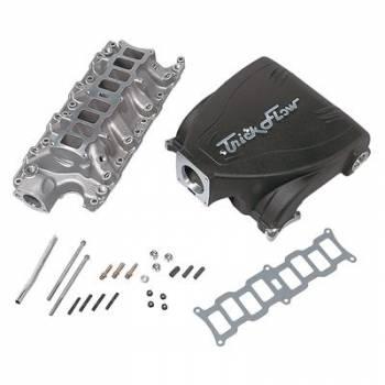 Trick Flow - Trick Flow Intake Manifold Ford 5.0L Track Heat Black