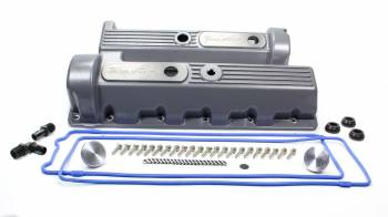 Trick Flow - Trick Flow Valve Cover Kit Ford 4.6 Motor 11-Bolt Cast Alm.