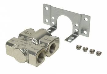 "Derale Performance - Derale 3/8"" NPT Fluid Control Thermostat with Mounting Bracket"