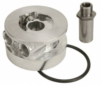"Derale Performance - Derale GM Thermostatic Sandwich Adapter with 1/2"" NPT Ports"