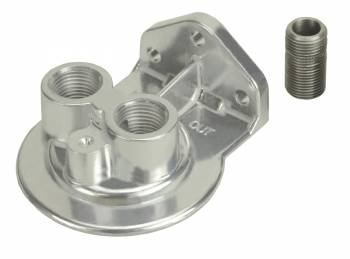 "Derale Performance - Derale Single Ports Up 1/2"" NPT Filter Mount"