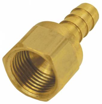 "Derale Performance - Derale -8AN Female x 3/8"" Barb Swivel Fitting"