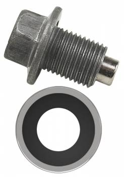 "Derale Performance - Derale Magnetic Transmission Pan Drain Plug Kit, 1/2""-20"
