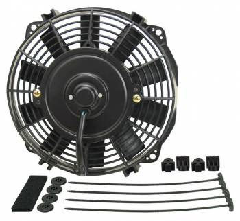 "Derale Performance - Derale 8"" Dyno-Cool Straight Blade Electric Fan - 7-7/8""W x 8-1/4""H x 2-1/4""D"