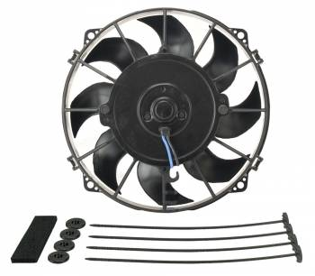 "Derale Performance - Derale 8"" Tornado Electric Puller Fan, Standard Mounting Kit"