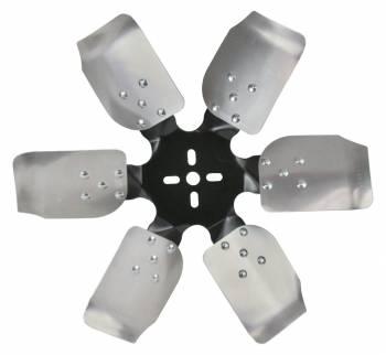 "Derale Performance - Derale 17"" Standard Rotation Rigid Race Fan, Aluminum Blade"