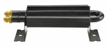 "Derale Performance - Derale 2 Pass 8"" Series 7000 Copper/Aluminum Cooler with Mount Brackets, -6AN"