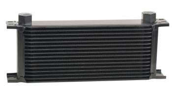 Derale Performance - Derale 16 Row Series 10000 Stack Plate Cooler, -10AN O-ring Female