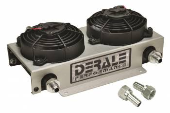 Derale Performance - Derale 19 Row Hyper-Cool Dual Cool Remote Cooler, -8AN