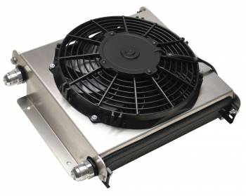 Derale Performance - Derale 40 Row Hyper-Cool Extreme Remote Cooler, -10AN