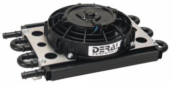 "Derale Performance - Derale 6 Pass Econo-Cool Remote Cooler, 1/2"" Barb Inlets"