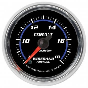 "Auto Meter - Auto Meter 2-1/16"" Cobalt Wideband Air/ Fuel Gauge - Analog"