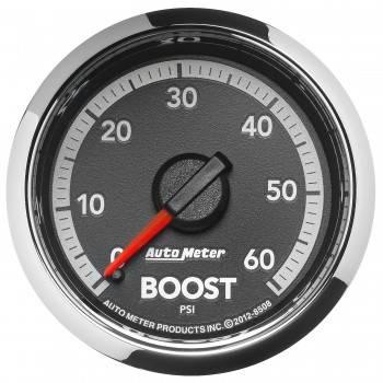 """Auto Meter - Auto Meter 2-1/16"""" Boost Gauge - 0-60 PSI Dodge Diesel"""