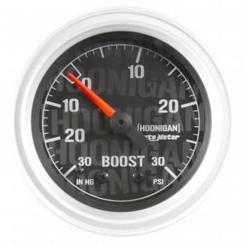 "Auto Meter - Auto Meter 2-1/16"" Vacuum/Boost Gauge - Hoonigan Series"