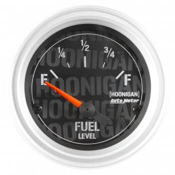 "Auto Meter - Auto Meter 2-1/16"" Fuel Level Gauge - Hoonigan Series"