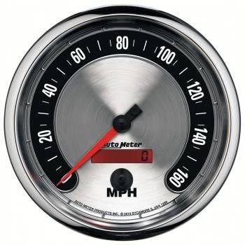 "Auto Meter - Auto Meter 5"" American Muscle Speedometermeter 160 MPH"