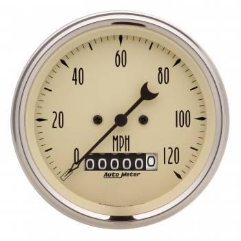 "Auto Meter - Auto Meter 3-3/8"" Speedometer 120 MPH - Electric - Programmable"