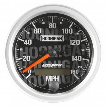 "Auto Meter - Auto Meter 3-3/8"" Speedometermeter 160 MPH Hoonigan Series"
