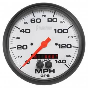 """Auto Meter - Auto Meter 5"""" Phantom GPS Speedometer w/Rally Nav Display"""