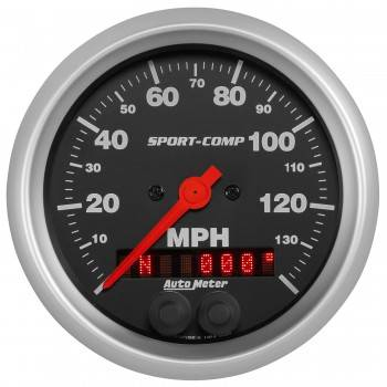 "Auto Meter - Auto Meter 3-3/8"" Sport Comp GPS Speedometer w/Rally Nav Display"