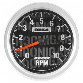 "Auto Meter - Auto Meter 3-3/8"" Tachometer 10K RPM Hoonigan Series"