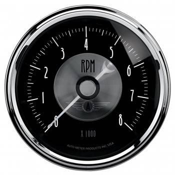 "Auto Meter - Auto Meter 3-3/8"" Tachometer In-Dash 8000 RPM Prestige"