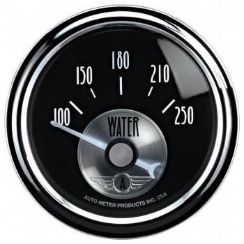 """Auto Meter - Auto Meter 2-1/16"""" B/D Water Temp Gauge - 150-250°"""