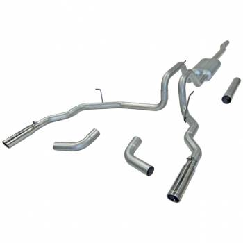 Flowmaster - Flowmaster Force II Single Exhaust System - 2004-08 Ford F-150/Lincoln Mark LT 4.6L/5.4L