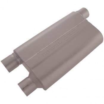 "Flowmaster - Flowmaster 80 Series Cross-Flow Muffler - 2.5"" Offset - Inlet/Dual Outlet"