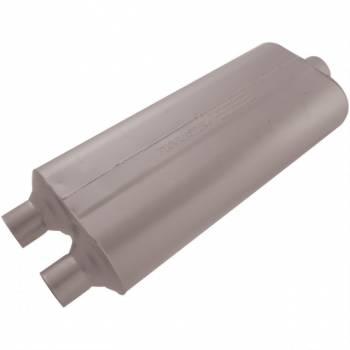 "Flowmaster - Flowmaster 70 Series Big Block II Muffler - 2.25"" Dual Inlet/3"" Center Outlet"