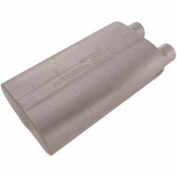 "Flowmaster - Flowmaster 80 Series Cross-Flow Muffler - 2.5"" Offset - Inlet/Same End Offset - Outlet"