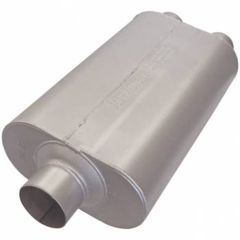 "Flowmaster - Flowmaster 50 Series SUV Muffler - 3"" Center Inlet / 2.5"" Dual Outlet"