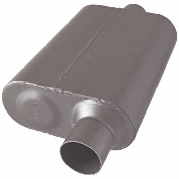 "Flowmaster - Flowmaster 40 Series Muffler - 2.5"" Offset - Inlet / Center Outlet"