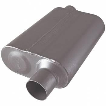 "Flowmaster - Flowmaster 40 Series Muffler - 2.5"" Offset - Inlet / Opposite Side Offset - Outlet"