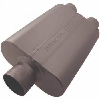 "Flowmaster - Flowmaster 40 Series Muffler - 3"" Center Inlet / 2.5"" Dual Outlet"