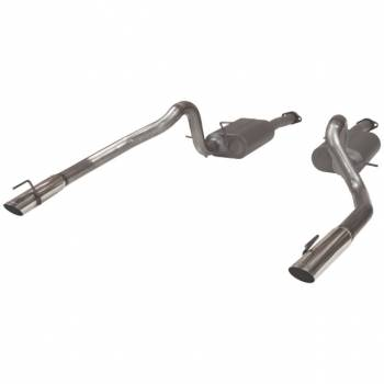 Flowmaster - Flowmaster American Thunder Dual Exhaust System - 1999-2004 Ford Mustang GT, Mach1 and Bullitt (not Cobra) 4.6L SOHC