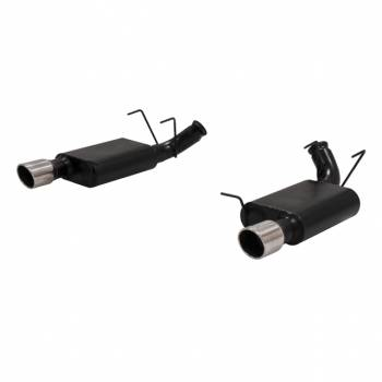 Flowmaster - Flowmaster American Thunder Axle-Back Dual Exhaust System - 2011-12 Ford Mustang GT 5.0L/5.4L V8