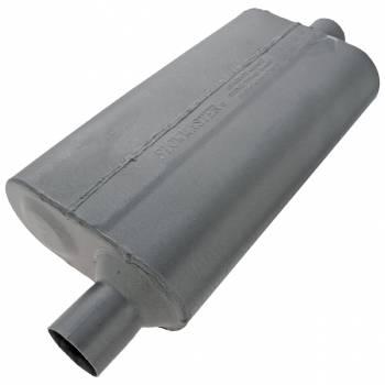 "Flowmaster - Flowmaster 50 Series Delta Flow Muffler - 2.25"" Offset - Inlet / Center Outlet"