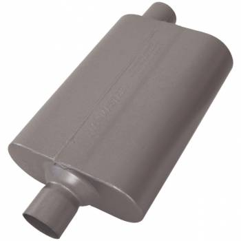 Flowmaster - Flowmaster 50 Series Delta Flow Muffler - 2.25in. Center Inlet / Offset Outlet