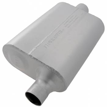 "Flowmaster - Flowmaster 40 Series Delta Flow Muffler - 2"" Offset - Inlet / Center Outlet"