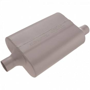 "Flowmaster - Flowmaster 40 Series Delta Flow Muffler - 2"" Center Inlet / Offset Outlet"