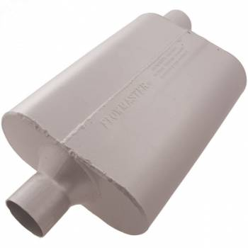 "Flowmaster - Flowmaster 40 Series Delta Flow Muffler - 2.25"" Center Inlet / Offset Outlet"