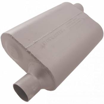 "Flowmaster - Flowmaster 40 Series Delta Flow Muffler - 2.25"" Offset - Inlet / 2.25"" Opposite Side Offset Outlet"