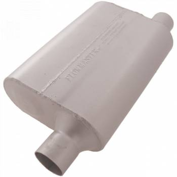"Flowmaster - Flowmaster 40 Series Delta Flow Muffler - 2.25"" Offset - Inlet / Same Side Offset Outlet"