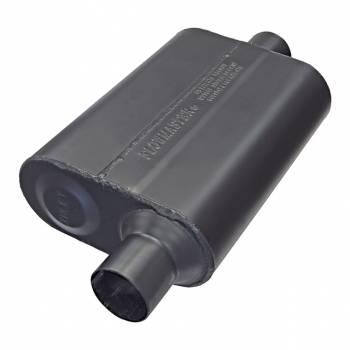 """Flowmaster - Flowmaster Super 44 Delta Flow Muffler - 2.25"""" Offset - Inlet / Center Outlet"""